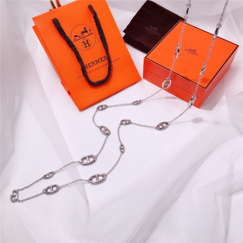 Replica Hermes Necklace For Women #835387 $61.00 USD for Wholesale