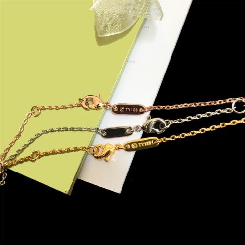Replica Van Cleef & Arpels Necklaces For Women #835399 $29.00 USD for Wholesale