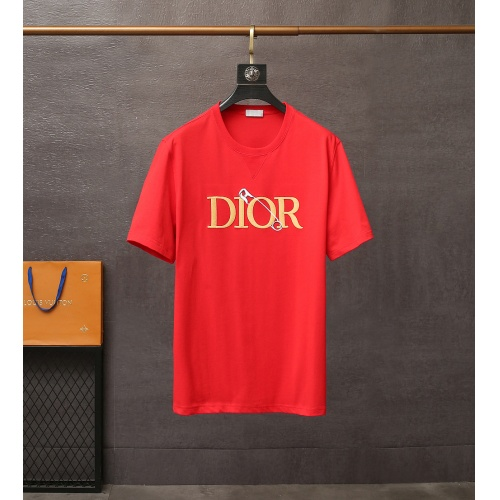 Christian Dior T-Shirts Short Sleeved For Men #835412