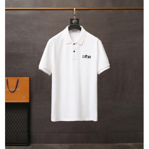 Christian Dior T-Shirts Short Sleeved For Men #835413