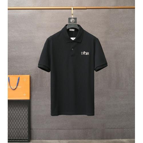 Christian Dior T-Shirts Short Sleeved For Men #835414