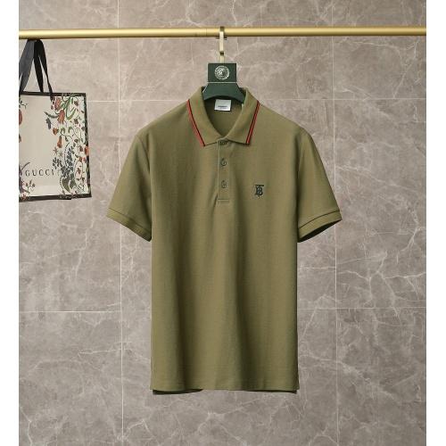 Burberry T-Shirts Short Sleeved For Men #835437