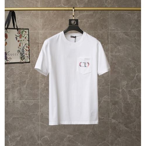 Christian Dior T-Shirts Short Sleeved For Men #835448