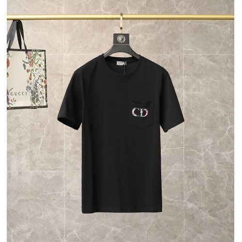 Christian Dior T-Shirts Short Sleeved For Men #835449