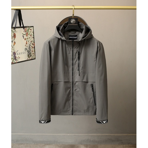Armani Jackets Long Sleeved For Men #835466