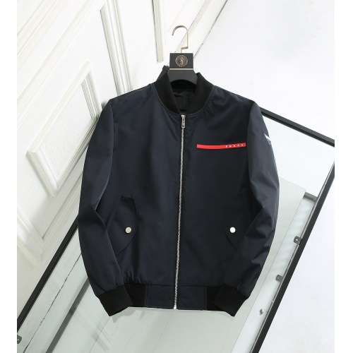 Prada Jackets Long Sleeved For Men #835478