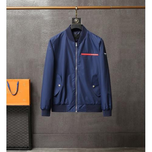 Prada Jackets Long Sleeved For Men #835479
