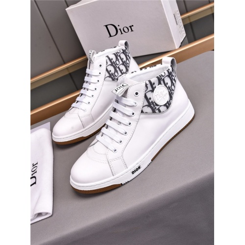 Christian Dior High Tops Shoes For Men #835530