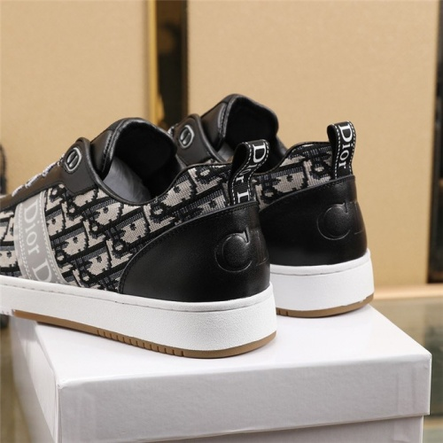 Replica Christian Dior Casual Shoes For Men #835546 $80.00 USD for Wholesale