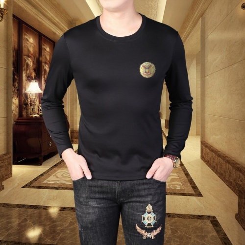 Versace T-Shirts Long Sleeved For Men #835615