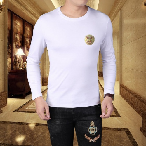 Versace T-Shirts Long Sleeved For Men #835616