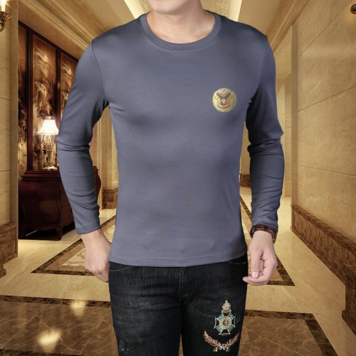 Versace T-Shirts Long Sleeved For Men #835617 $41.00, Wholesale Replica Versace T-Shirts