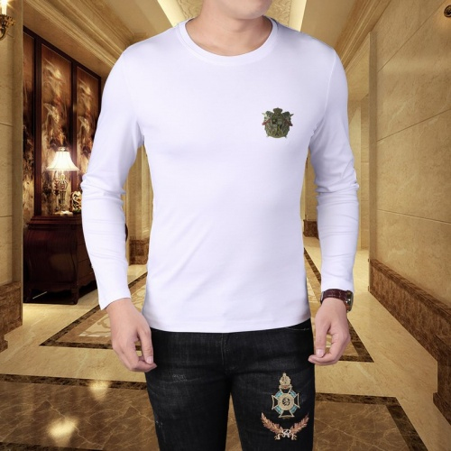 Versace T-Shirts Long Sleeved For Men #835619
