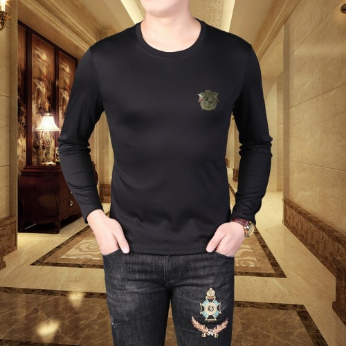 Versace T-Shirts Long Sleeved For Men #835620