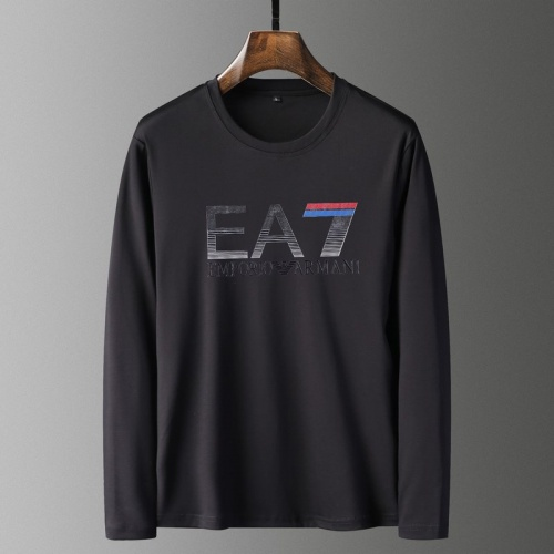 Armani T-Shirts Long Sleeved For Men #835647