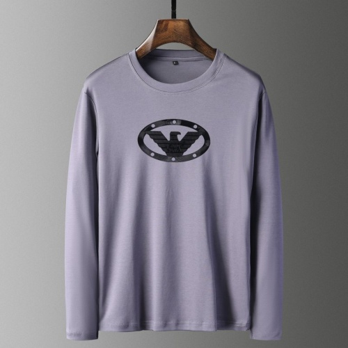 Armani T-Shirts Long Sleeved For Men #835651
