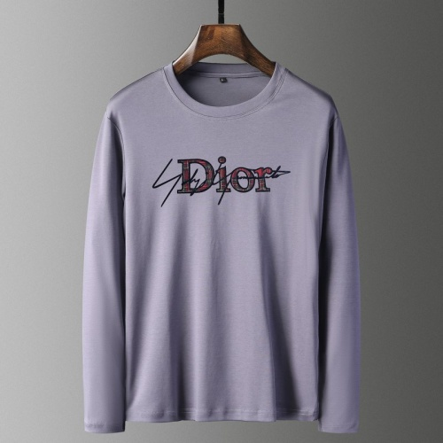 Christian Dior T-Shirts Long Sleeved For Men #835654 $41.00 USD, Wholesale Replica Christian Dior T-Shirts