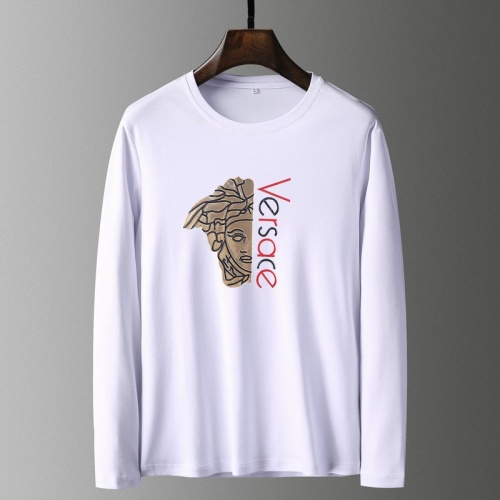 Versace T-Shirts Long Sleeved For Men #835655