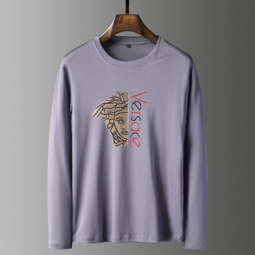 Versace T-Shirts Long Sleeved For Men #835657