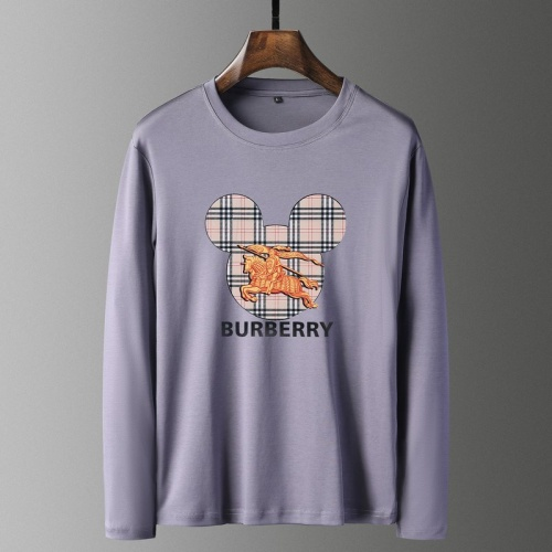 Burberry T-Shirts Long Sleeved For Men #835690