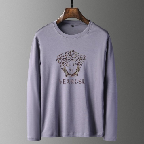 Versace T-Shirts Long Sleeved For Men #835693
