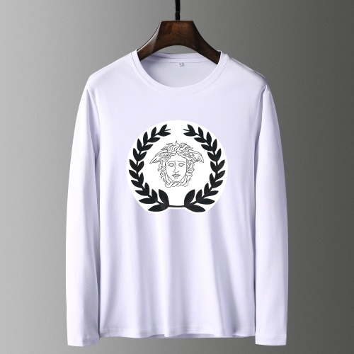 Versace T-Shirts Long Sleeved For Men #835694 $41.00, Wholesale Replica Versace T-Shirts
