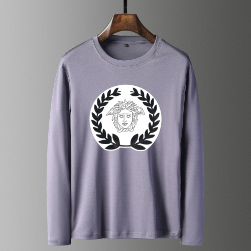 Versace T-Shirts Long Sleeved For Men #835696