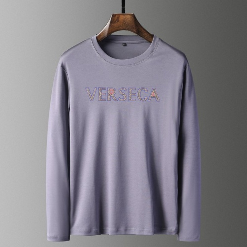 Versace T-Shirts Long Sleeved For Men #835702