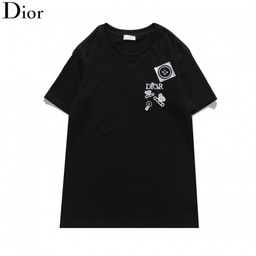 Christian Dior T-Shirts Short Sleeved For Men #835746