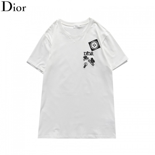Christian Dior T-Shirts Short Sleeved For Men #835747