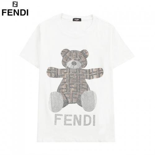 Fendi T-Shirts Short Sleeved For Men #835749 $32.00, Wholesale Replica Fendi T-Shirts