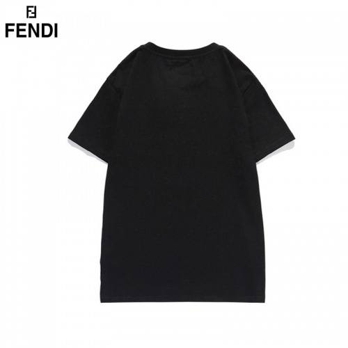 Replica Fendi T-Shirts Short Sleeved For Men #835750 $29.00 USD for Wholesale