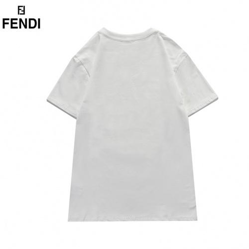 Replica Fendi T-Shirts Short Sleeved For Men #835751 $29.00 USD for Wholesale