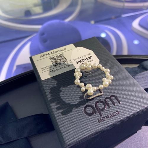 apm Monaco Earrings #835896 $36.00 USD, Wholesale Replica apm Monaco Earrings