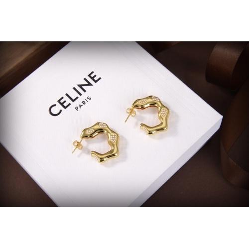 Celine Earrings #835913 $34.00 USD, Wholesale Replica Celine Earrings