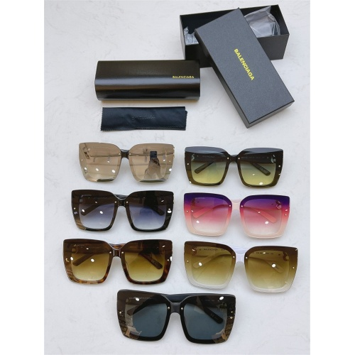 Replica Balenciaga AAA Quality Sunglasses #835949 $54.00 USD for Wholesale