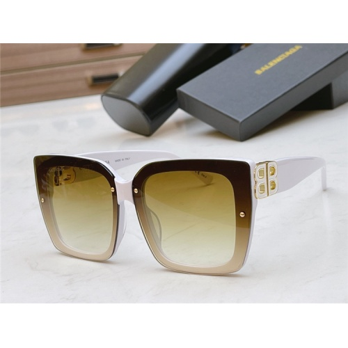 Balenciaga AAA Quality Sunglasses #835951 $54.00 USD, Wholesale Replica Balenciaga AAA Sunglasses
