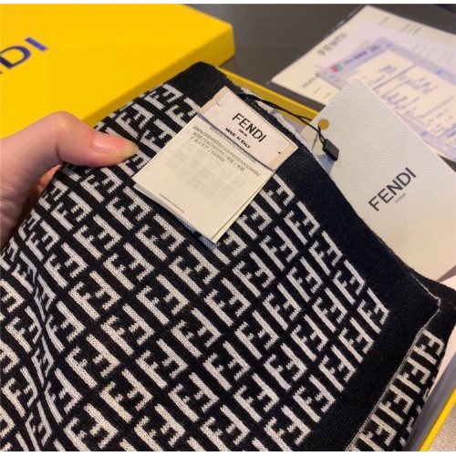 Replica Fendi Quality A Scarves For Women #835995 $54.00 USD for Wholesale