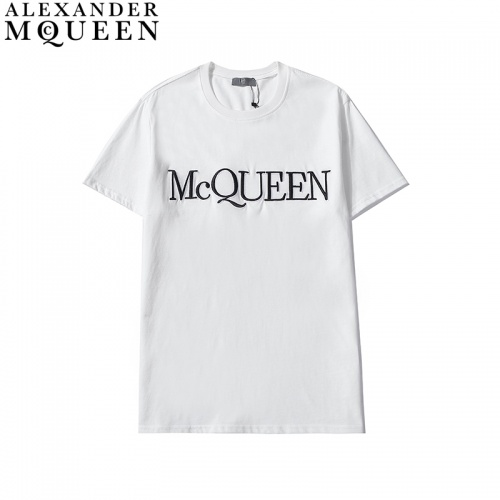 Alexander McQueen T-shirts Short Sleeved For Men #835998