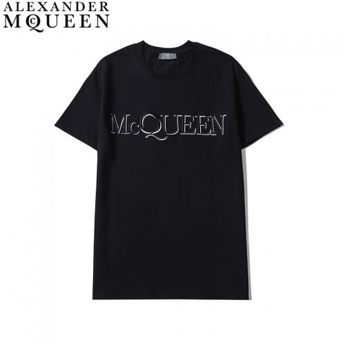 Alexander McQueen T-shirts Short Sleeved For Men #835999 $27.00 USD, Wholesale Replica Alexander McQueen T-shirts