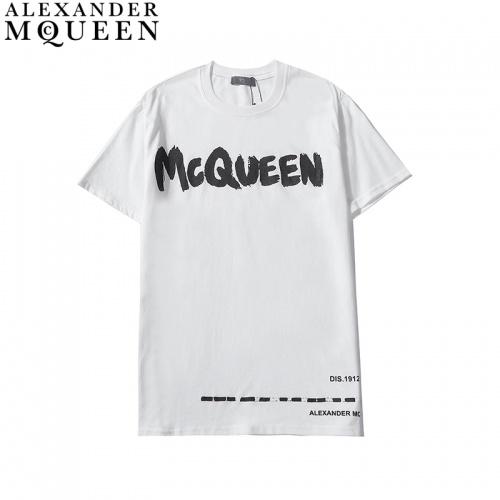 Alexander McQueen T-shirts Short Sleeved For Men #836003