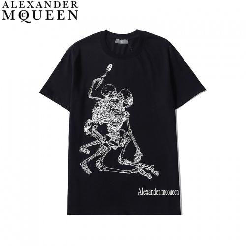 Alexander McQueen T-shirts Short Sleeved For Men #836007