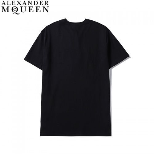 Replica Alexander McQueen T-shirts Short Sleeved For Men #836007 $27.00 USD for Wholesale