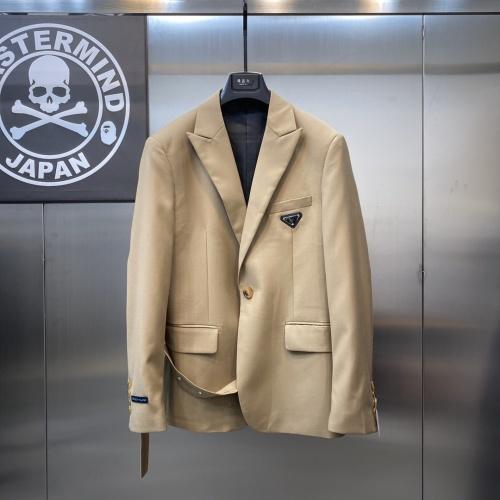 Prada Jackets Long Sleeved For Men #836016