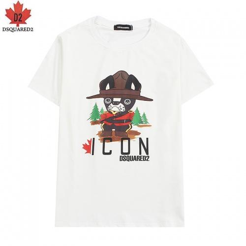 Dsquared T-Shirts Short Sleeved For Men #836023