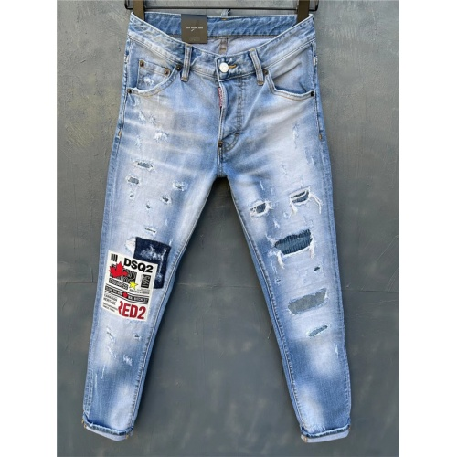 Dsquared Jeans For Men #836024 $65.00 USD, Wholesale Replica Dsquared Jeans