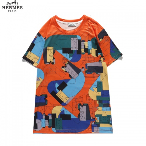 Hermes T-Shirts Short Sleeved For Men #836036 $29.00 USD, Wholesale Replica Hermes T-Shirts