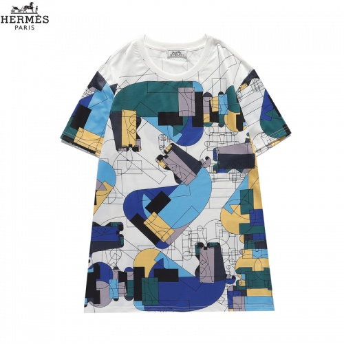 Hermes T-Shirts Short Sleeved For Men #836037 $29.00 USD, Wholesale Replica Hermes T-Shirts