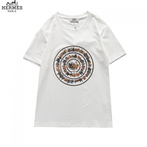 Hermes T-Shirts Short Sleeved For Men #836040