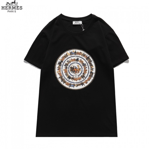 Hermes T-Shirts Short Sleeved For Men #836041